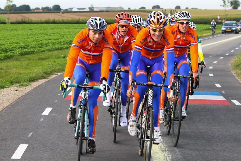 Nederlandse profs in actie op European Games Baku