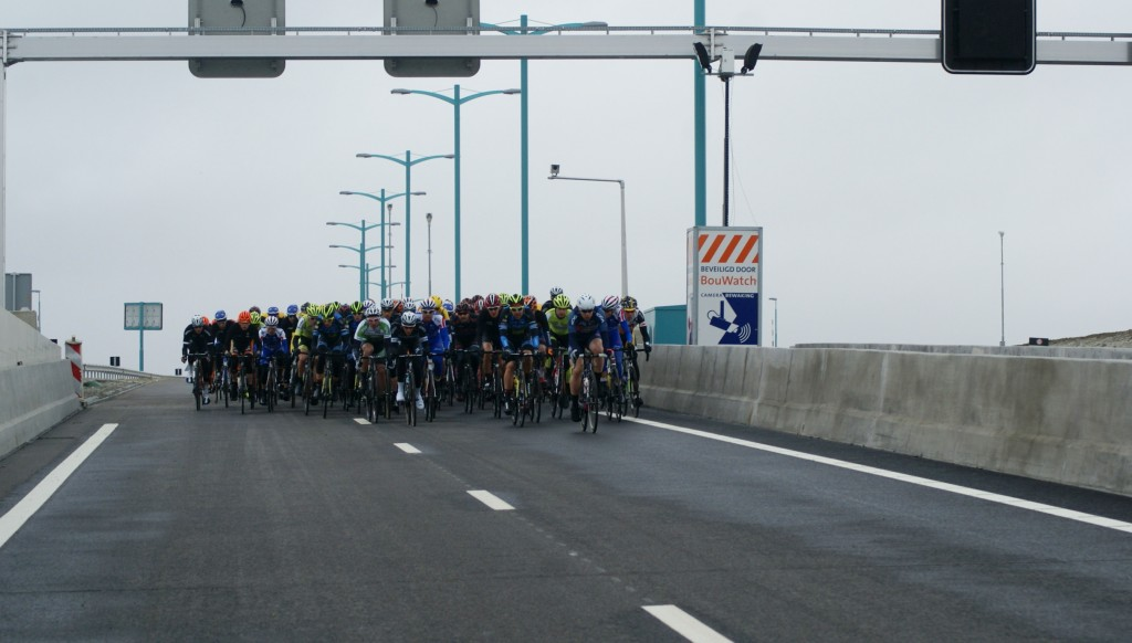 Tweede etappe ZLM Tour finisht in gemeente Borsele