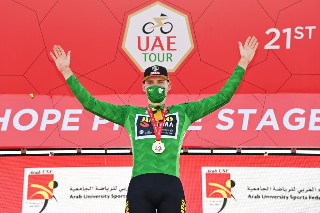 Dekker herovert puntentrui in UAE Tour