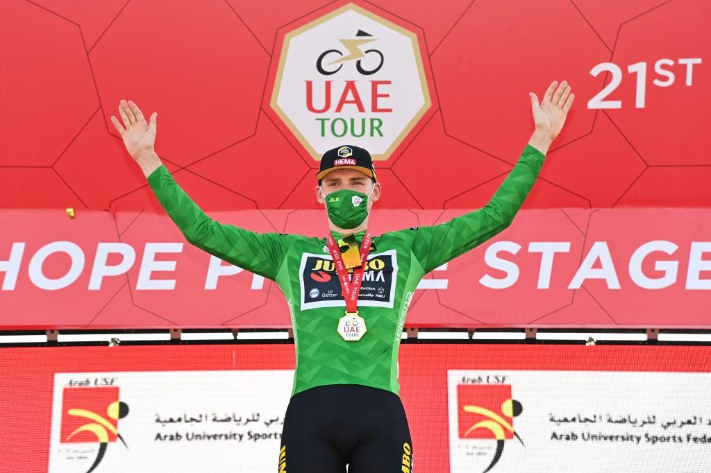 Dekker neemt groen mee uit UAE Tour