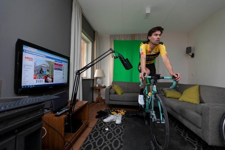Organisatie Virtuele Amstel Gold Race tevreden