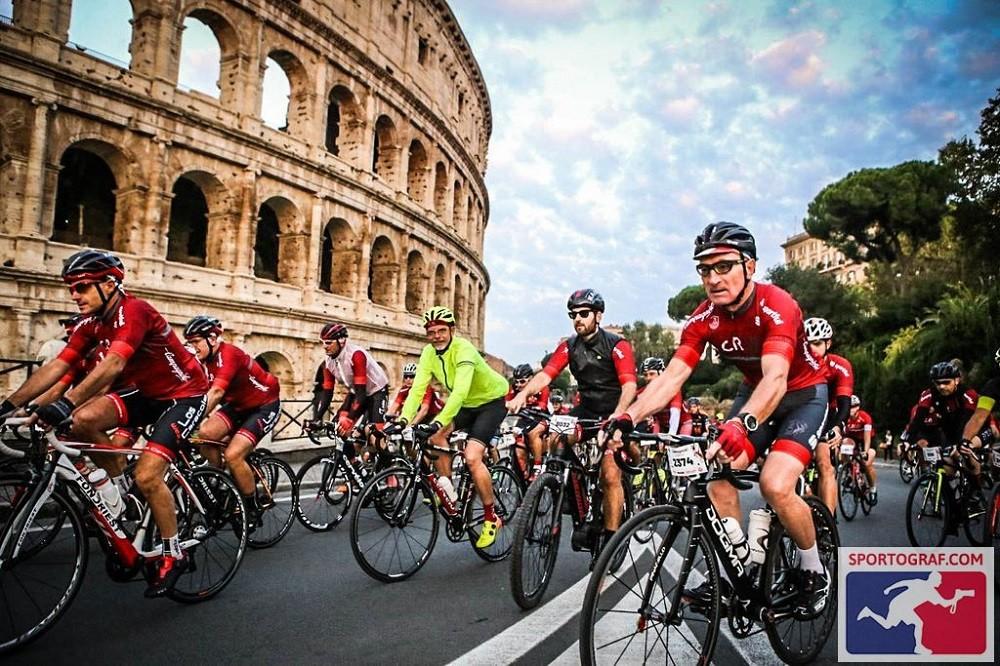 Gran Fondo Roma - de race van de gevallen kastanjes