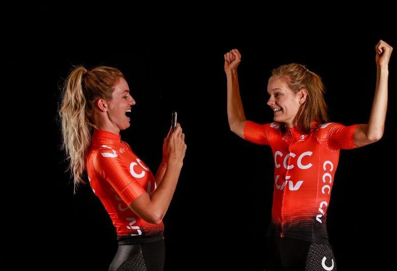 CCC-team Vos rijdt Tour Down Under