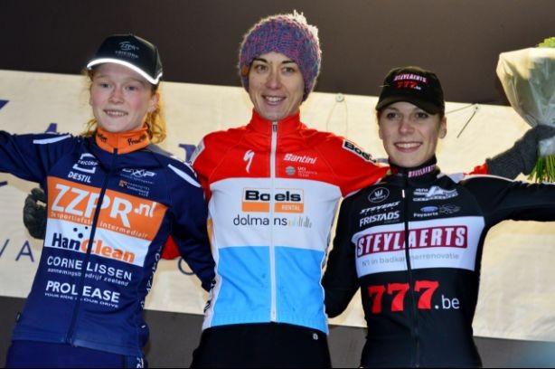 Kastelijn en Pieterse op podium in Luxemburg