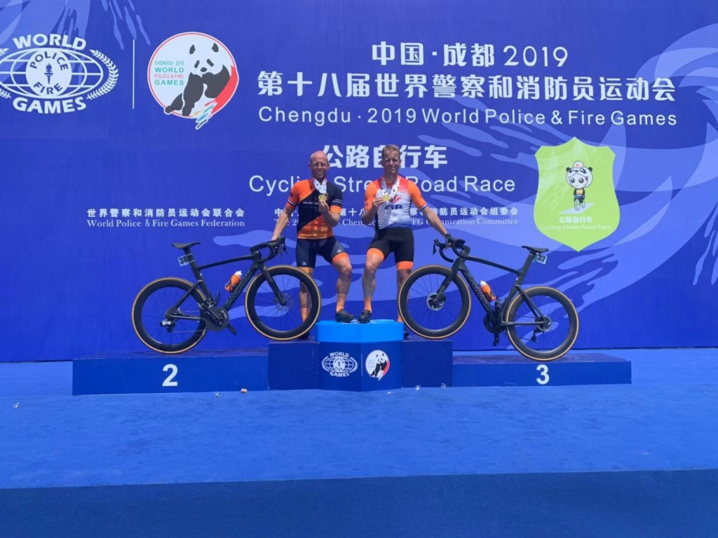 John en Wout Roos behalen goud in China