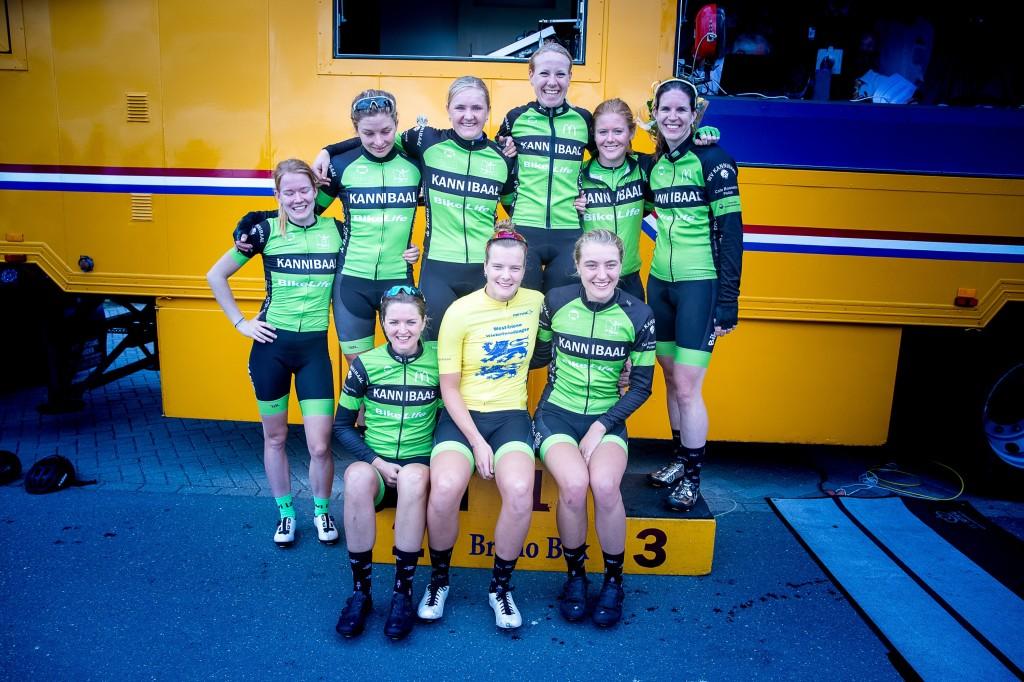 Women Cycling Series sneuvelt opnieuw