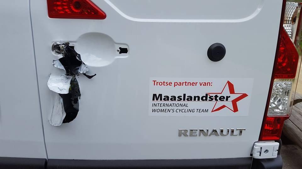 Fietsen rensters Maaslandster gestolen in Luxemburg