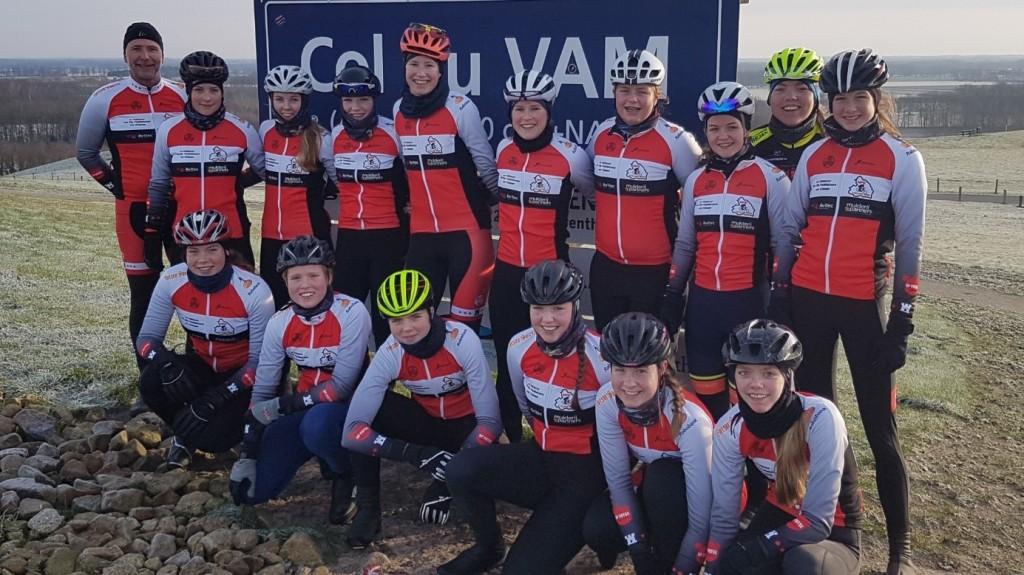 MPE Cycling Team leidt Drents talent op
