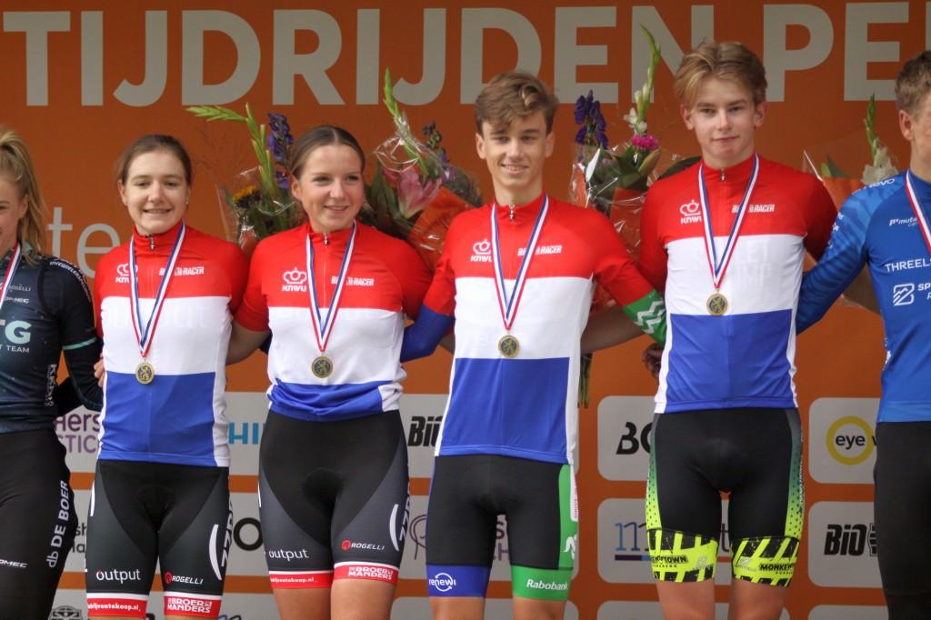 Souren, Vlot, Del Grosso en Van der Meiden winnen NK