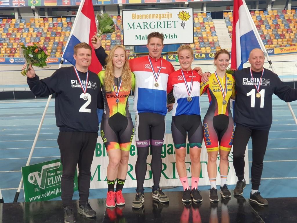 Raaijmakers Nederlands kampioene derny