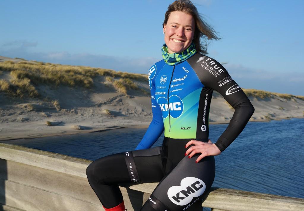 Rozanne Slik gaat mountainbiken voor KMC