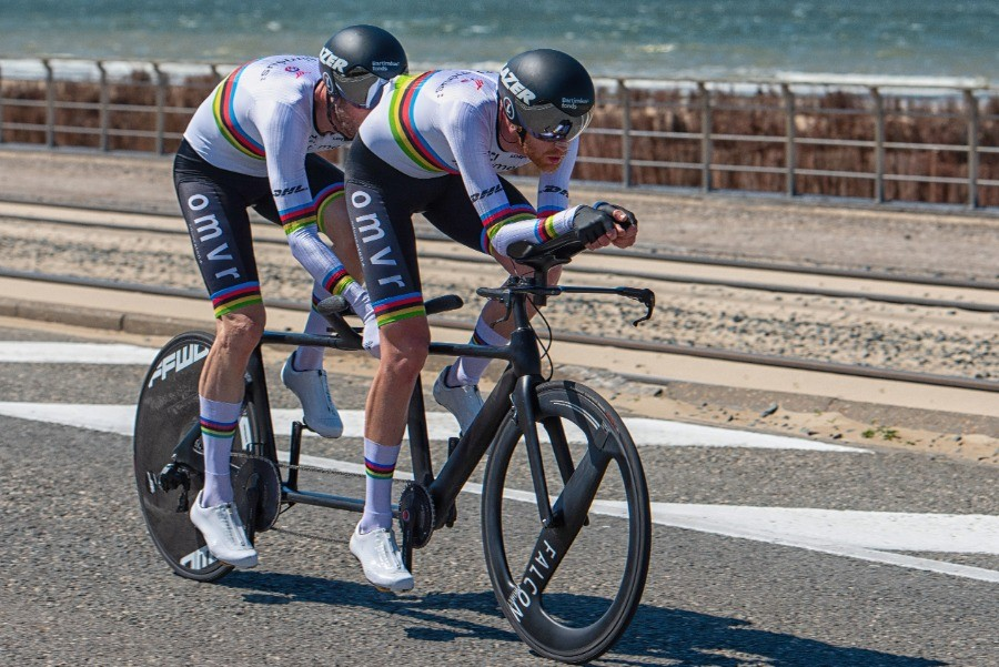Veel oranje overwinningen in WB Para-Cycling