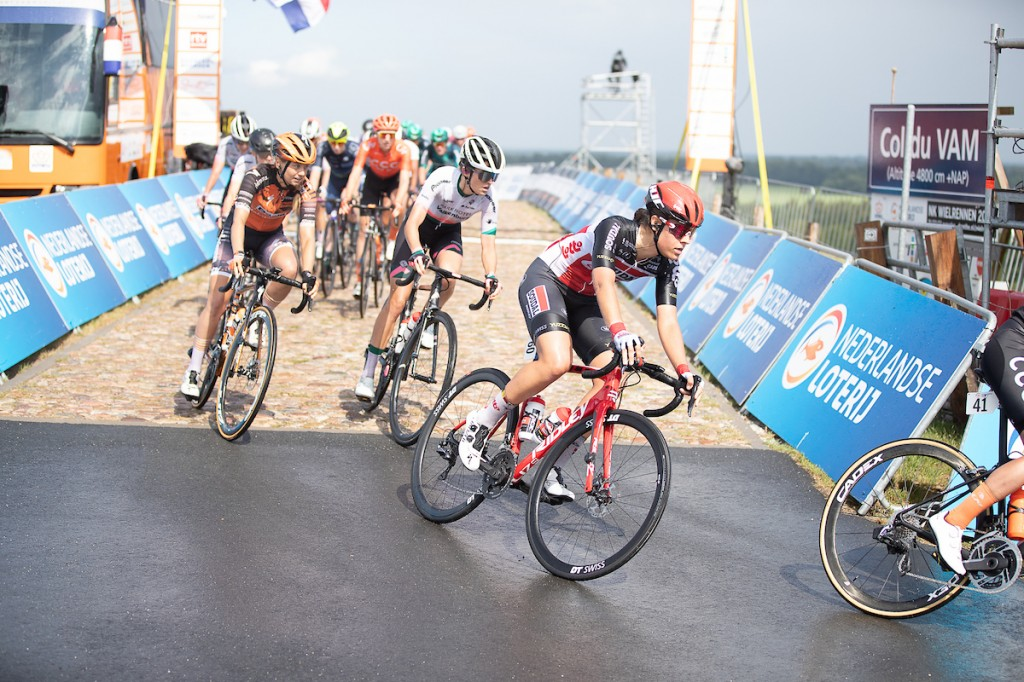 Danique Braam verlaat Giro Donne