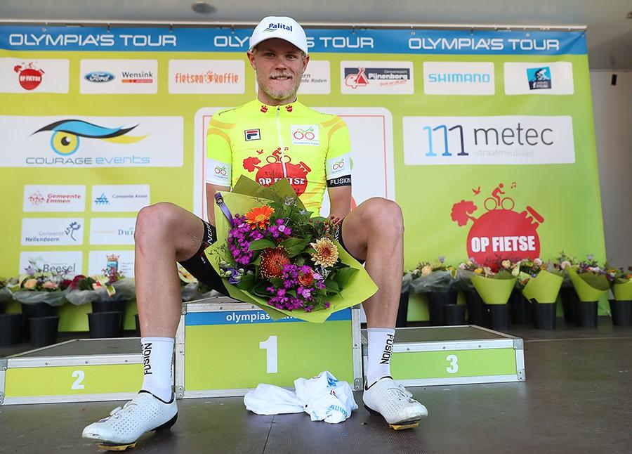 Johansen wint Olympia's Tour
