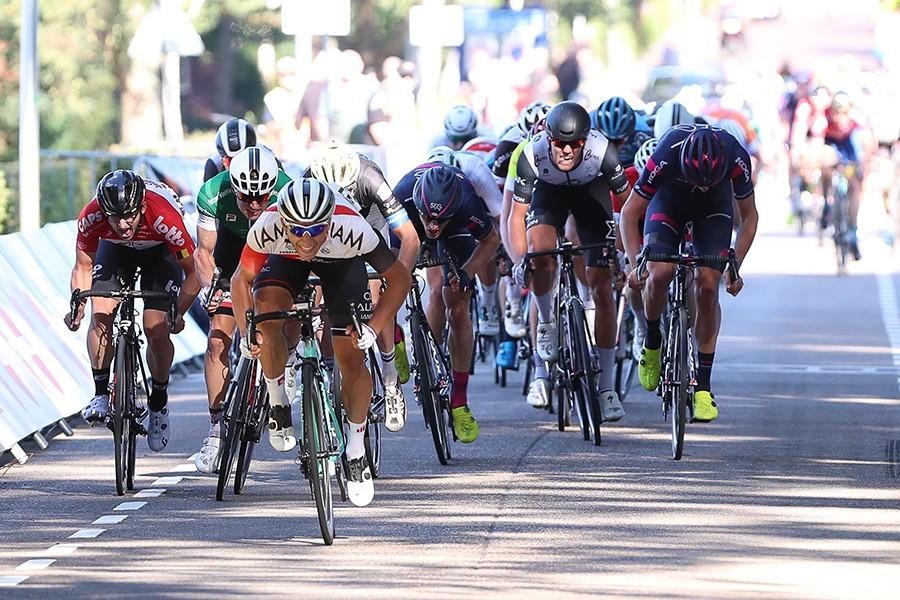 Ballabio wint derde rit Olympia's Tour