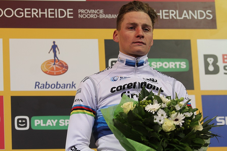 Van der Poel wint WK-generale Hoogerheide