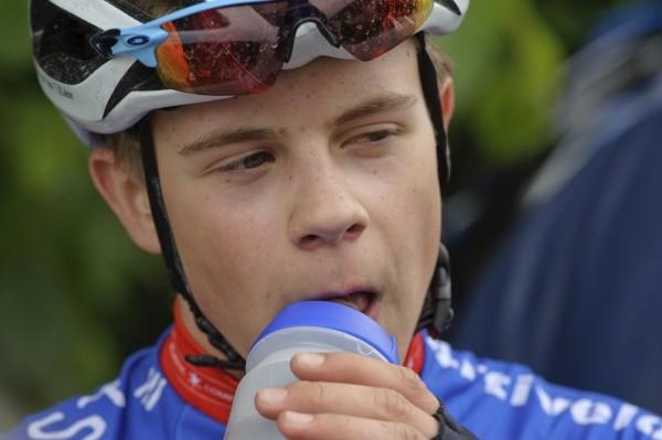 Casper van Uden wint juniorenwedstrijd Kuurne