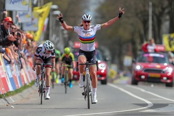 Amstel Gold Race vrouwen voor Blaak