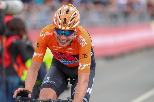 Riesebeek oranje uitblinker in Amstel Gold Race