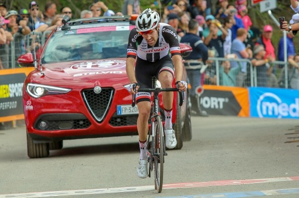 Dumoulin nog tweede in Giro, nu achter Froome