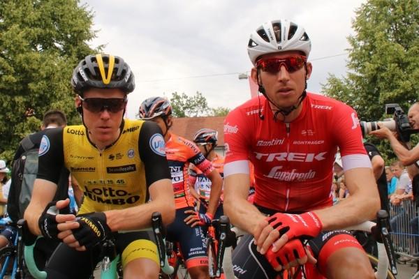Landgenoten bij de les in Ronde van Zwitserland