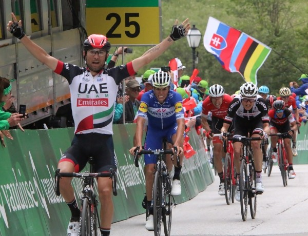 Slagter is derde in Tour de Suisse