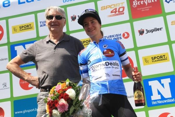 Vos wint BeNe Ladies Tour