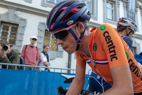 Arensman: 'Had niet benen van Tour de l'Avenir'