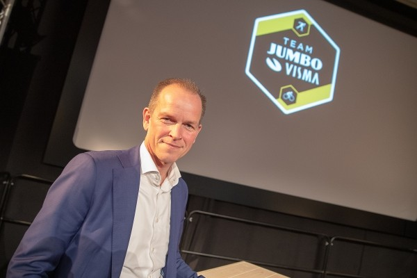 Jumbo-Visma presenteert zich bij nieuwe sponsor HEMA