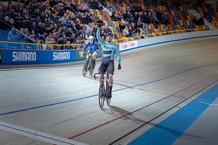 Buchli naar nationale titel op de sprint