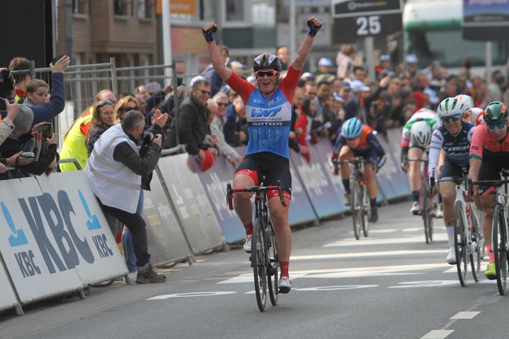 Wild wint Gent-Wevelgem vrouwen