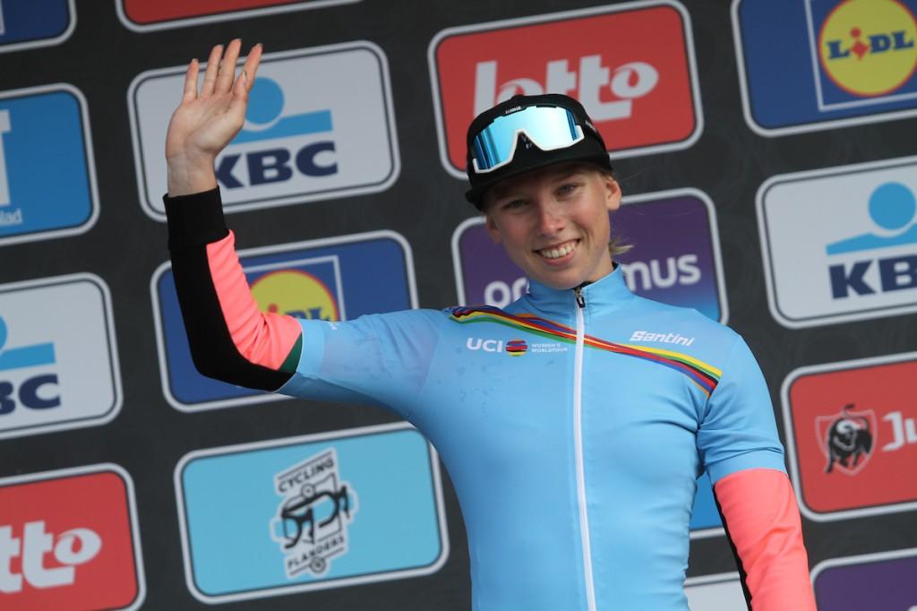 Vos en Wiebes leiden in Women's WorldTour
