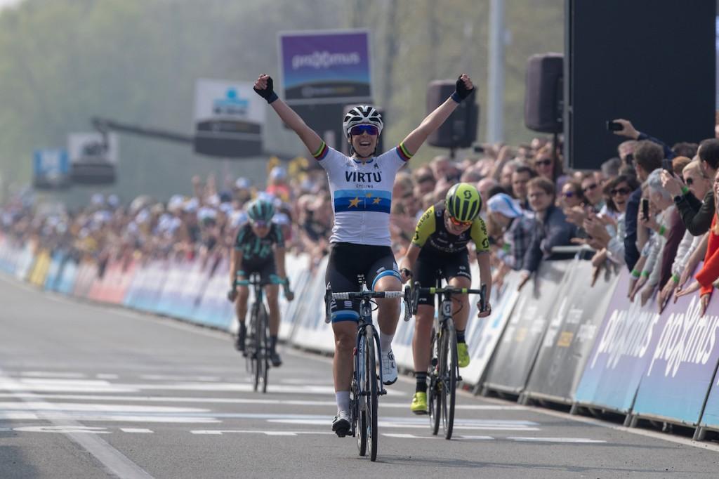 Van Vleuten is tweede in Vlaanderen