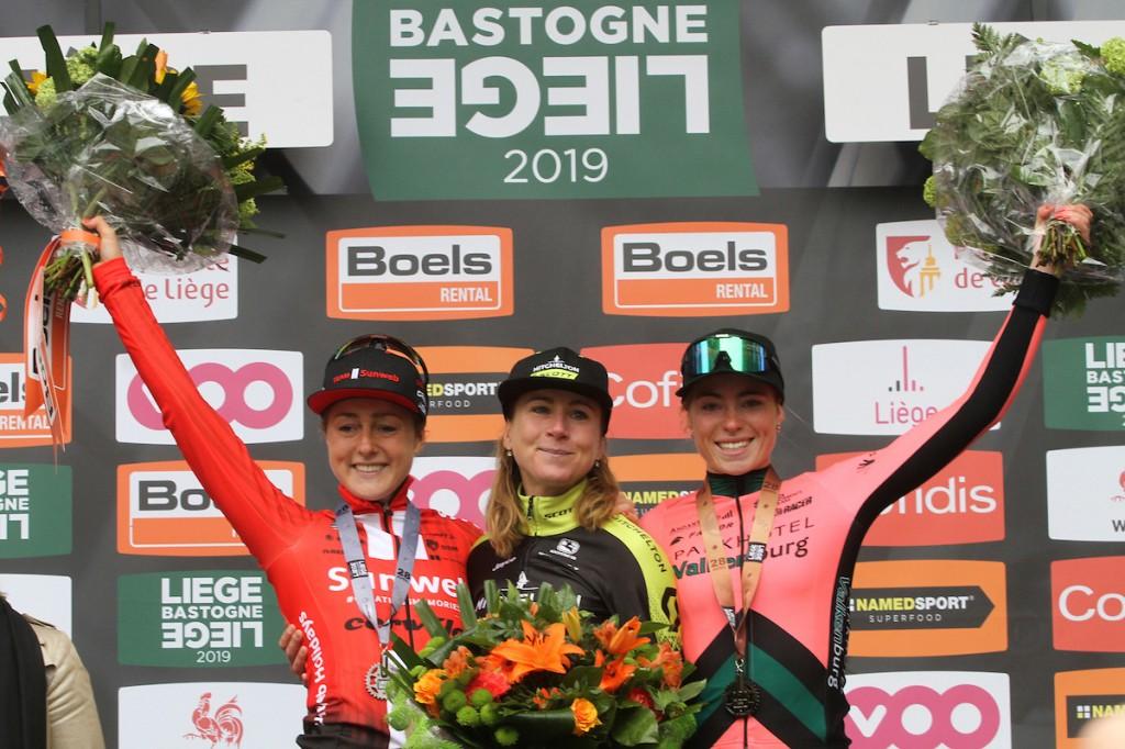 Deelnemers Luik-Bastenaken-Luik vrouwen