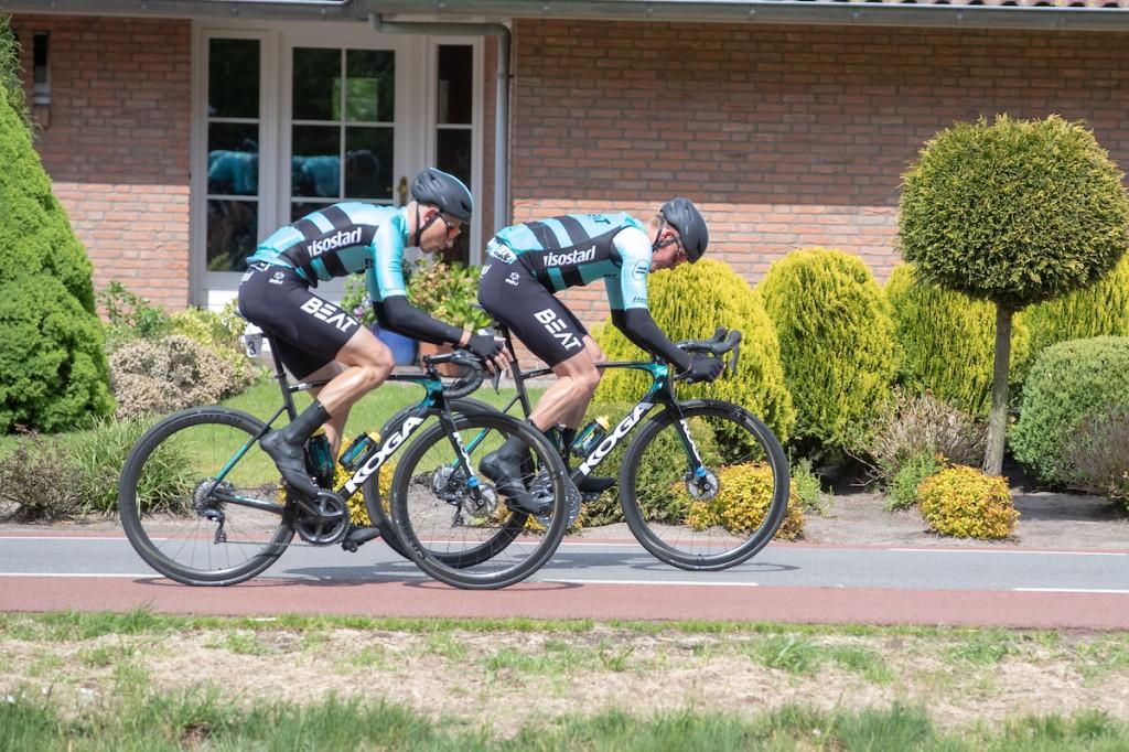 Budding wint rit in Tour de la Mirabelle