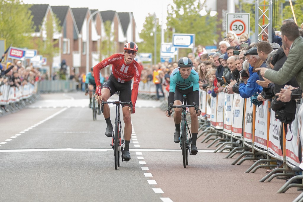 Eekhoff en Kooistra stagiair Team Sunweb