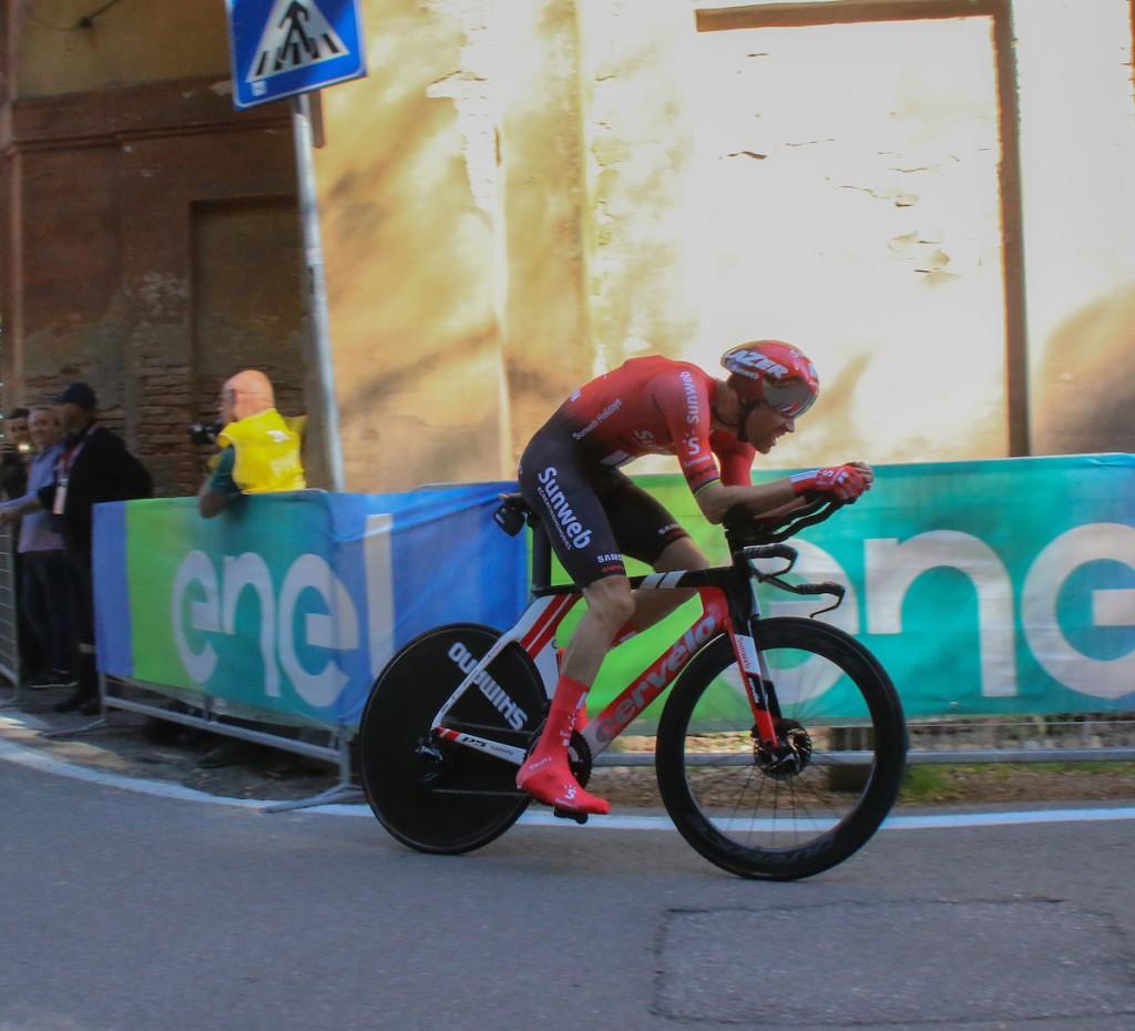Starttijden individuele tijdrit 14e etappe Giro d'Italia
