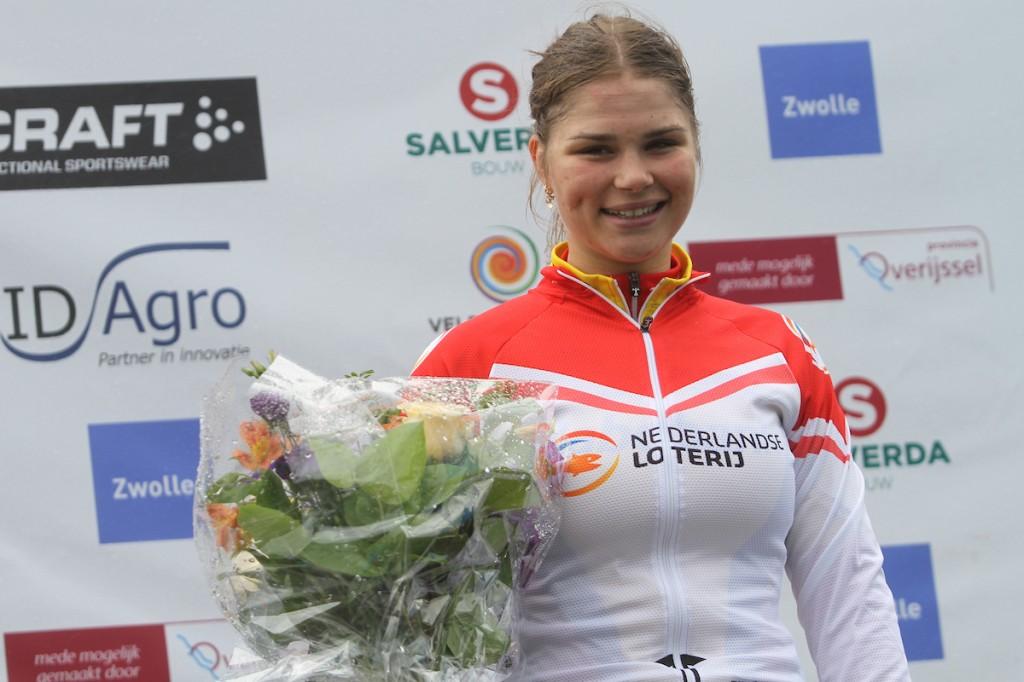 Amber van der Hulst wil van waarde zijn voor de ploeg