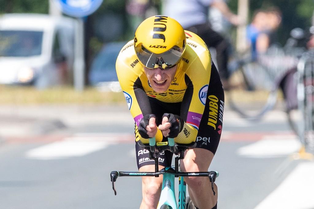 Van Emden is derde in tijdrit BinckBank Tour