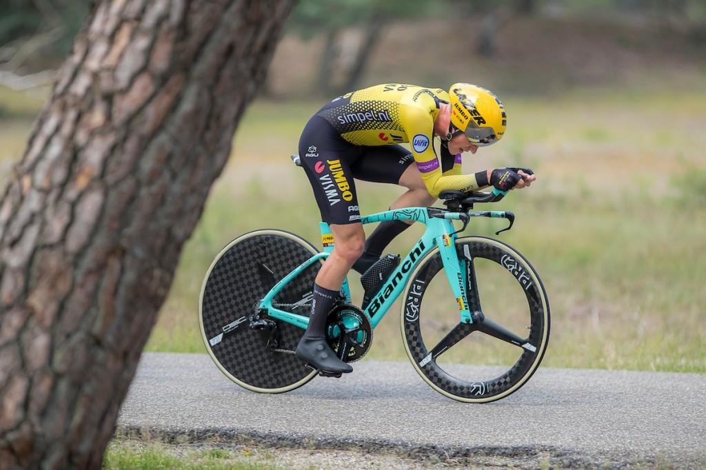 Bouwman achtste in tijdrit Belgium Tour