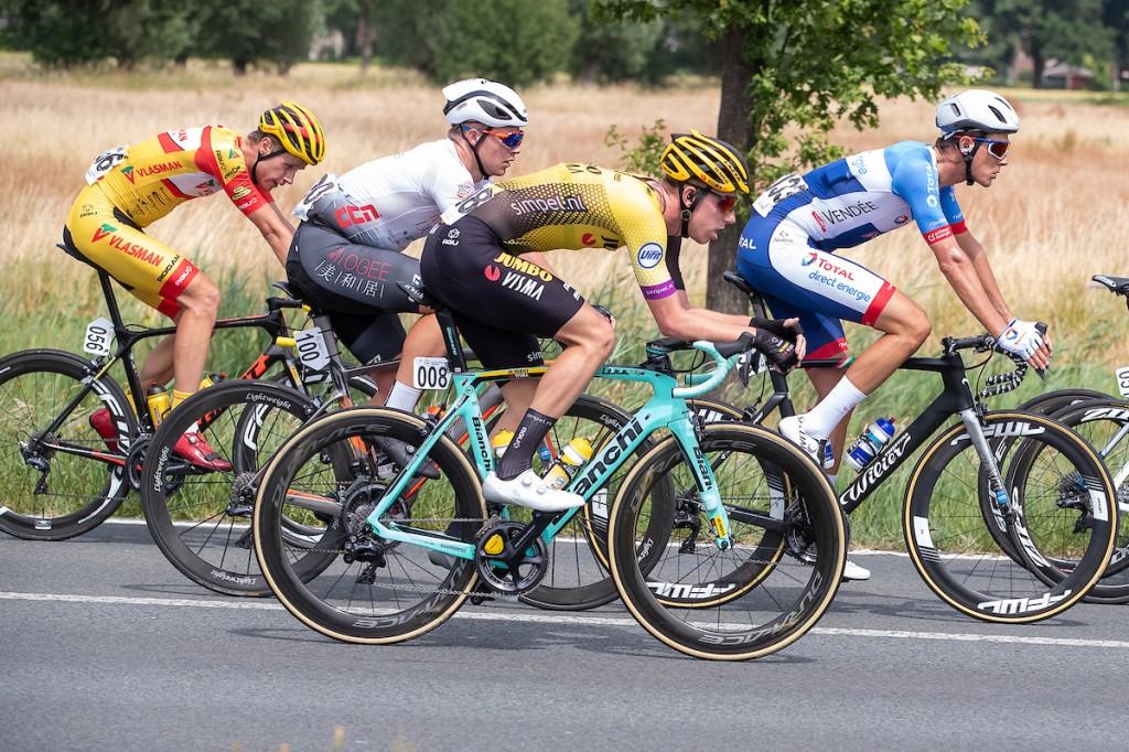 Niki Terpstra is tweede in Parijs-Tours