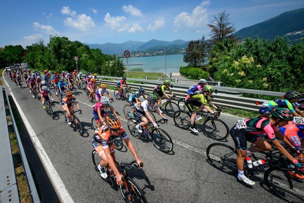 Eerste Italiaanse ritzege in Giro Rosa