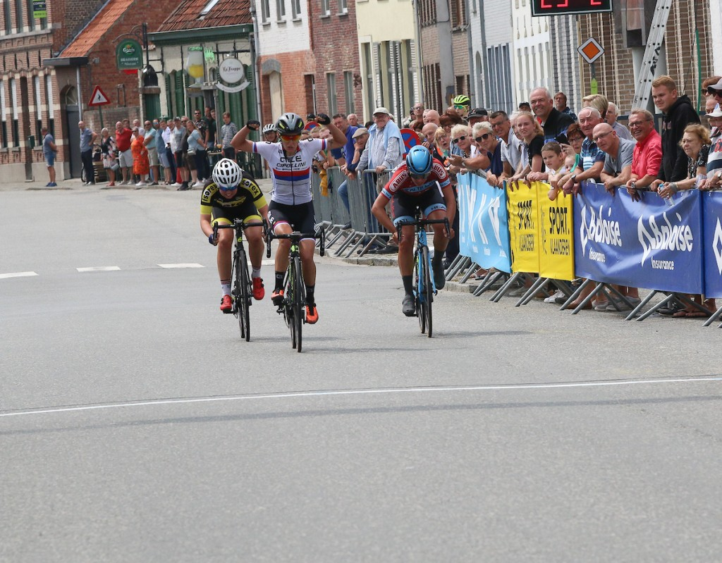 Van Haaften leidt in BeNe Ladies Tour