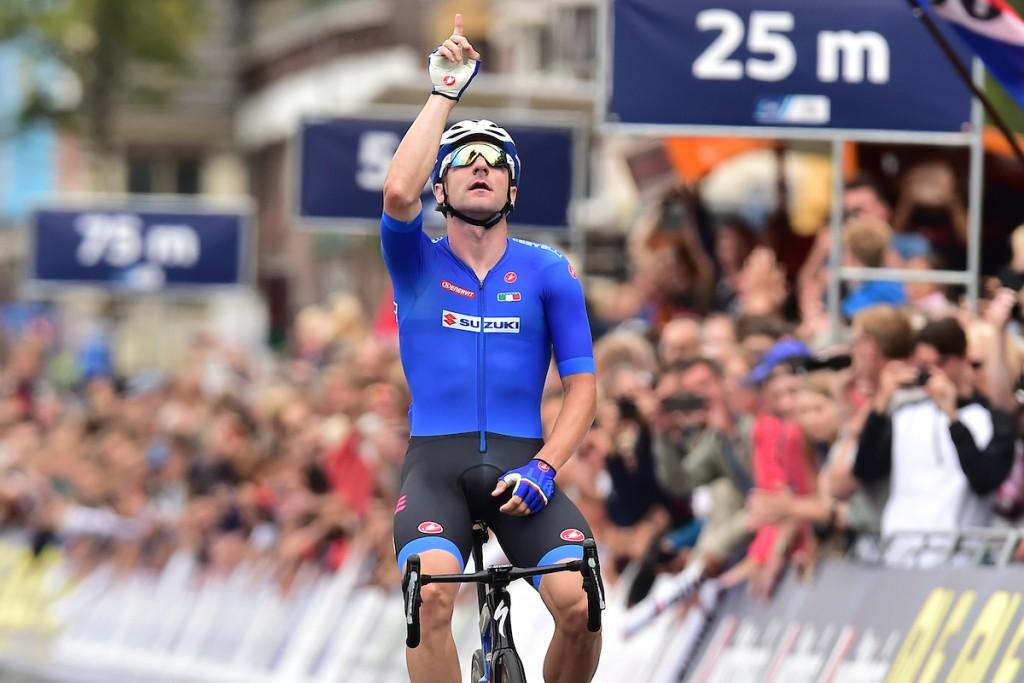 Viviani sprint naar Europese titel