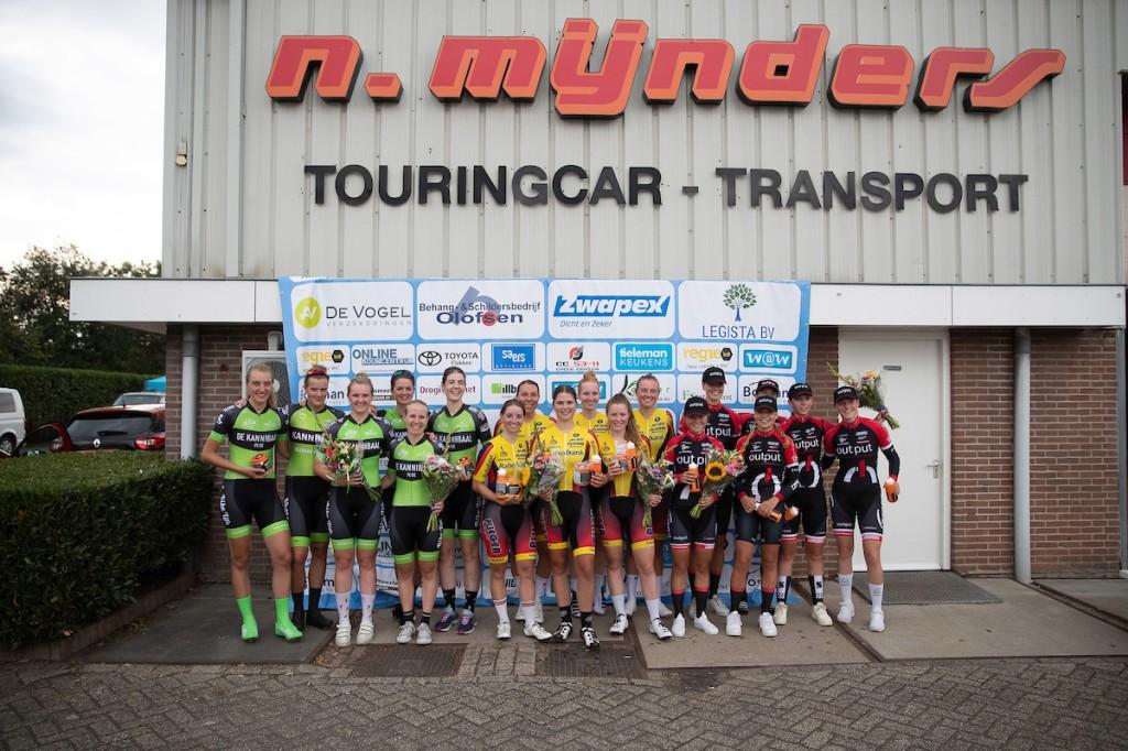 Van Arckel wint ploegentijdrit op Goeree