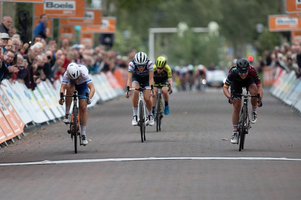 Boels Ladies Tour: Klein wint in Nijverdal