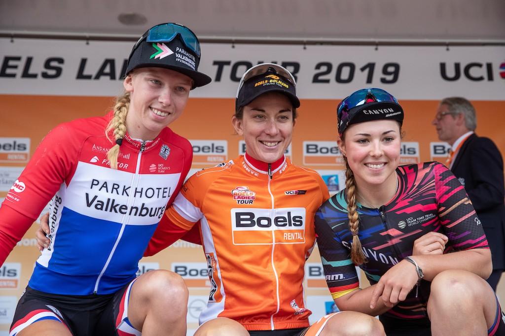 Christine Majerus wint Boels Ladies Tour