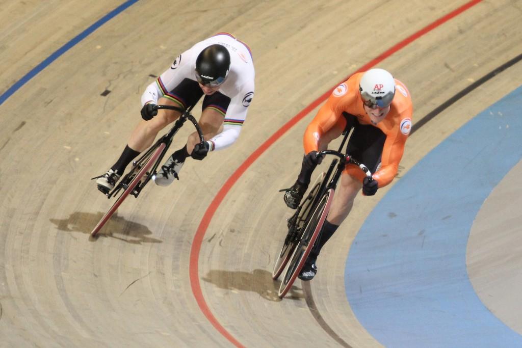 Nederland wint goud, zilver en brons op sprint