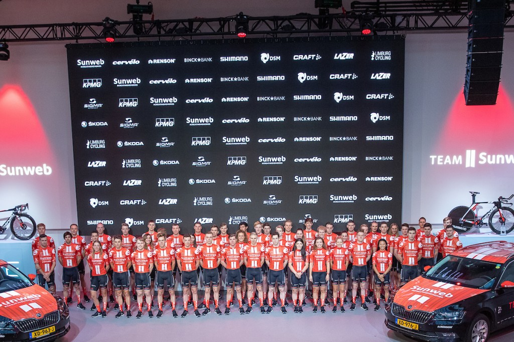 Giro: geen nieuwe positieve testuitslag bij Sunweb