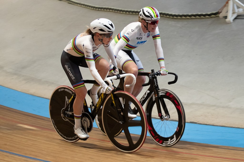 Kirsten Wild wint omnium Belgian Track Meeting